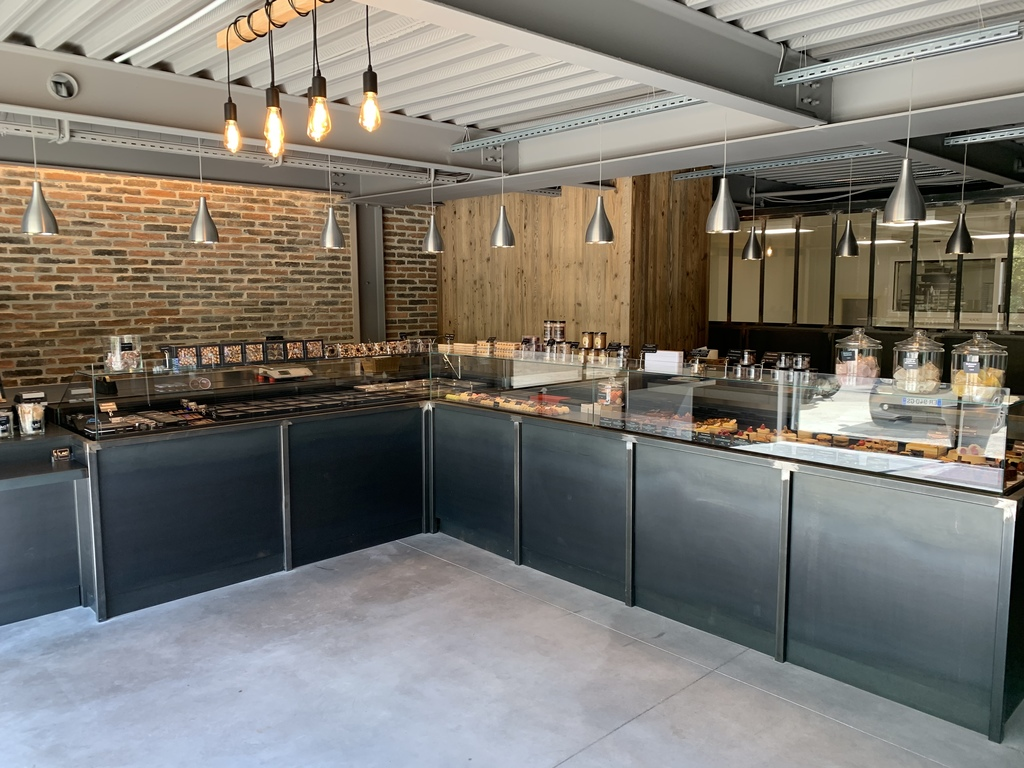 Création d'un laboratoire pour une chocolaterie