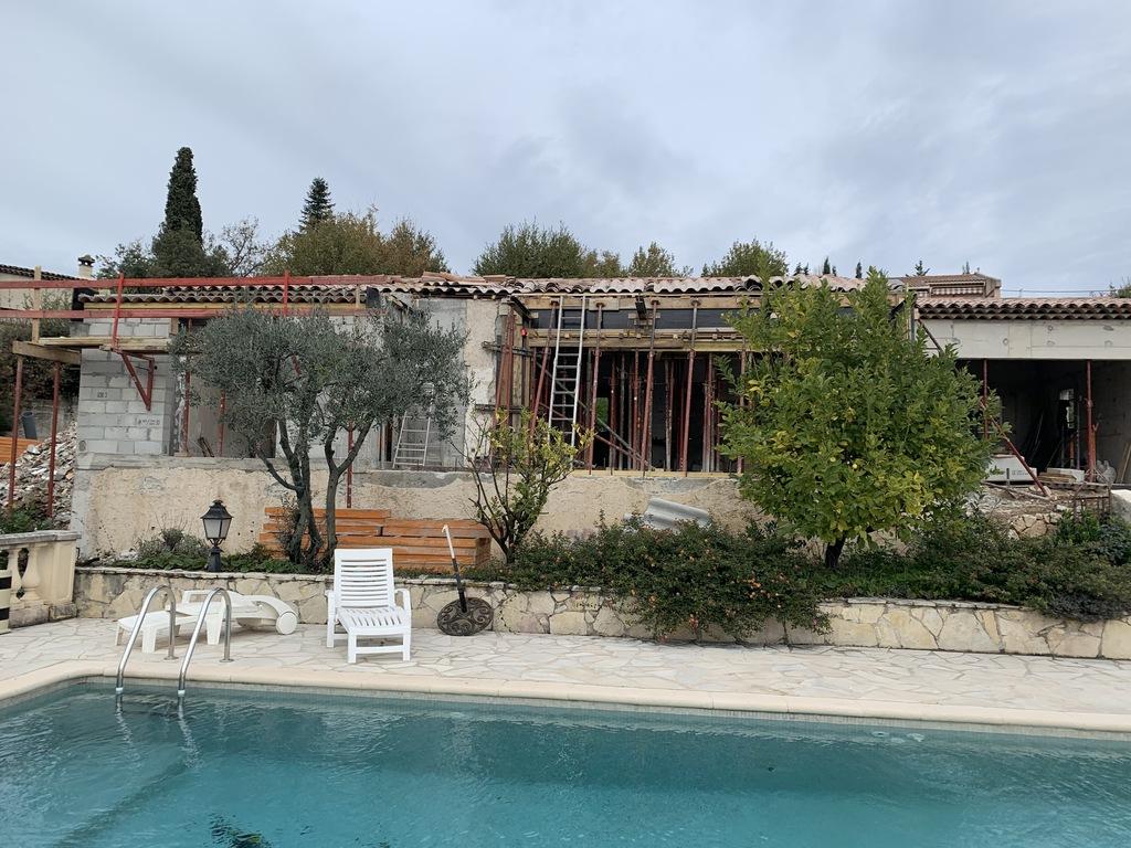 Rénovation & agrandissement d'une villa