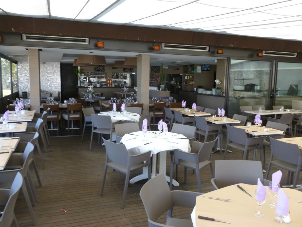 Agencement d'un restaurant à St Laurent du Var