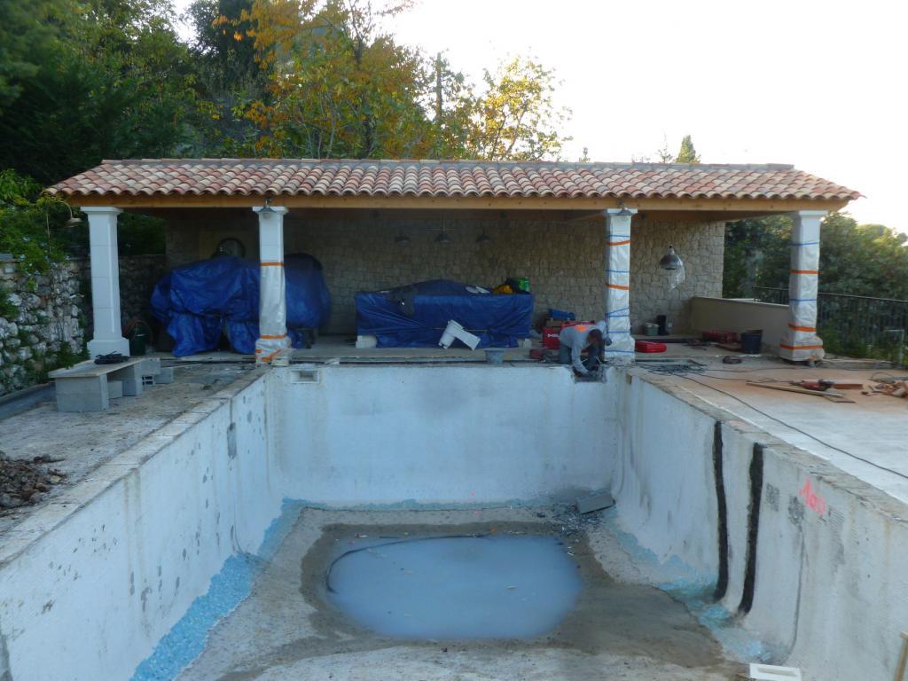 Pool House Piscine piscine et pool house - réalisation - baticoncept