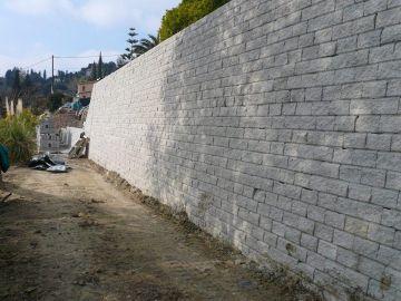 Mur de soutènement en bloc de béton Leromur