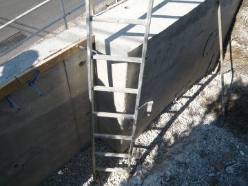 Mur de soutènement : mur poids