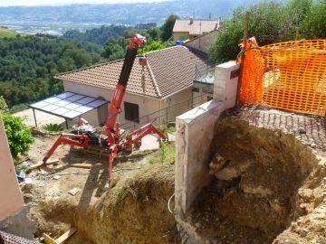 Adaptation PMR d'une villa en cours